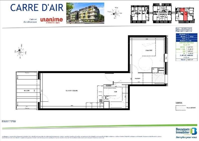 Rental apartment Aix les bains 656€ CC - Picture 2