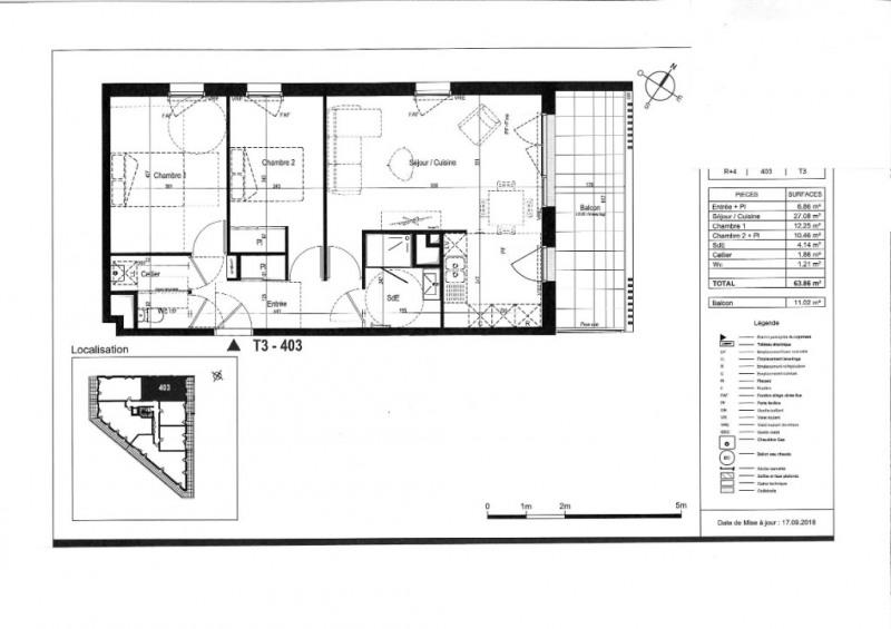 Vente appartement Saint nazaire 241000€ - Photo 3