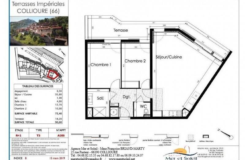Vente appartement Collioure 431400€ - Photo 6