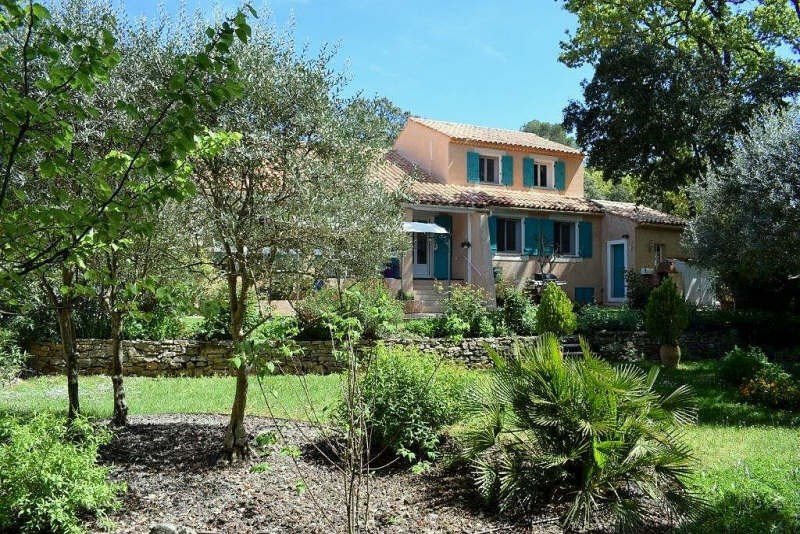 Vente de prestige maison / villa Pourrieres 598 000€ - Photo 1