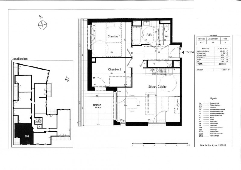 Vente appartement Rennes 296000€ - Photo 3