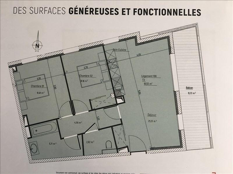 Deluxe sale apartment Charbonnieres les bains 324900€ - Picture 2