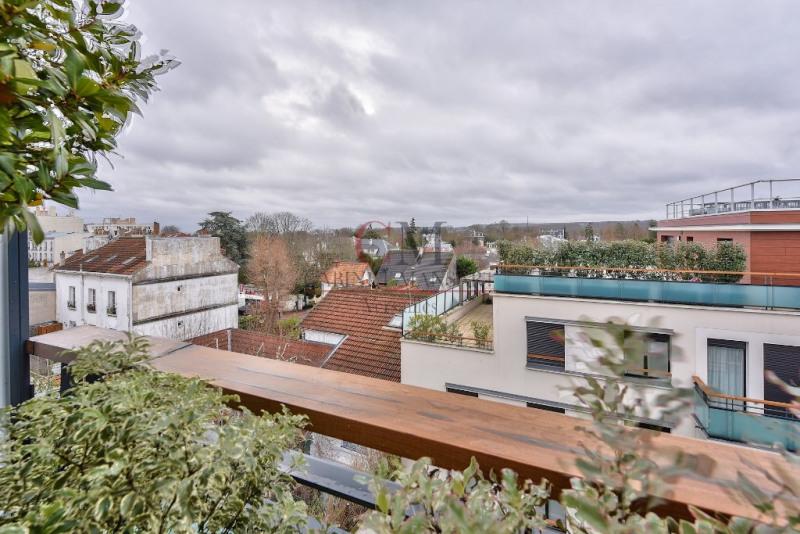 Vente de prestige appartement Saint cloud 1190000€ - Photo 4