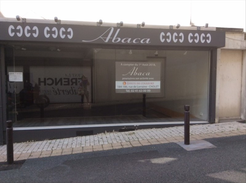 Location local commercial Cholet 1 150€ HT/HC - Photo 1