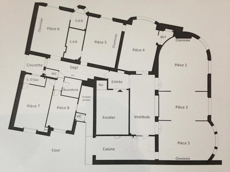 Location appartement Paris 17ème 7960€ CC - Photo 2