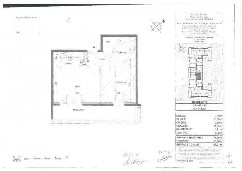 Rental apartment Ferrieres 749€ CC - Picture 8