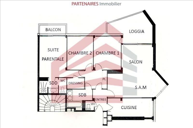 Vente appartement Le chesnay 426000€ - Photo 10