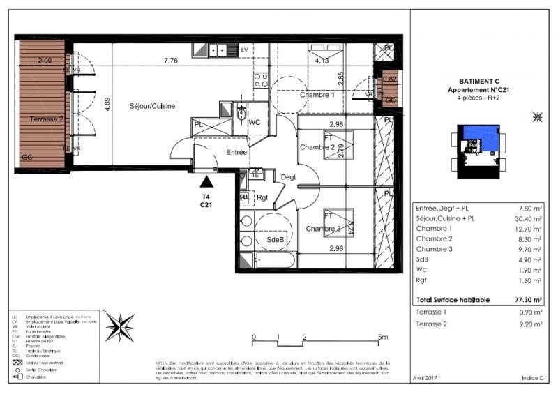 Vente appartement Tournefeuille 265000€ - Photo 7