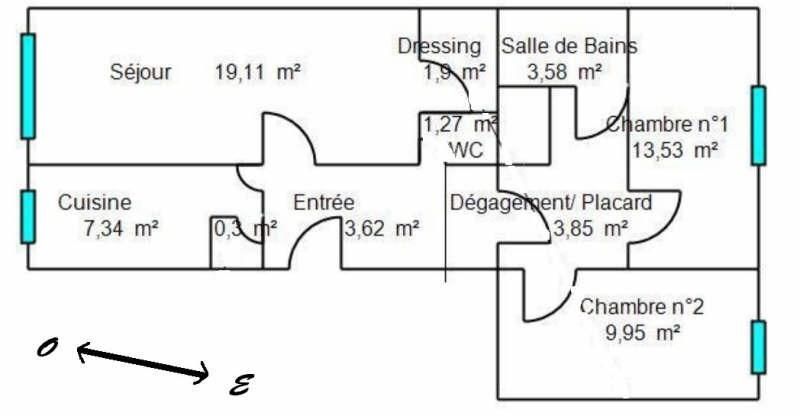 Revenda apartamento Boulogne billancourt 498000€ - Fotografia 6