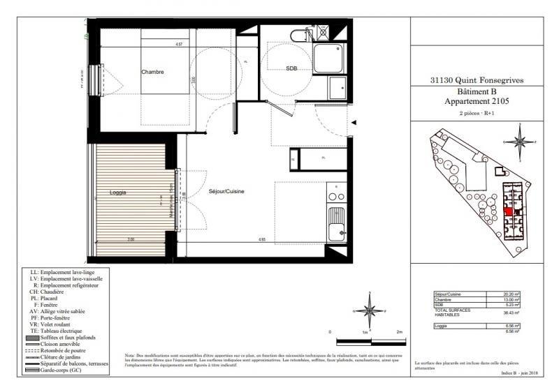 Vente appartement Quint fonsegrives 179000€ - Photo 2