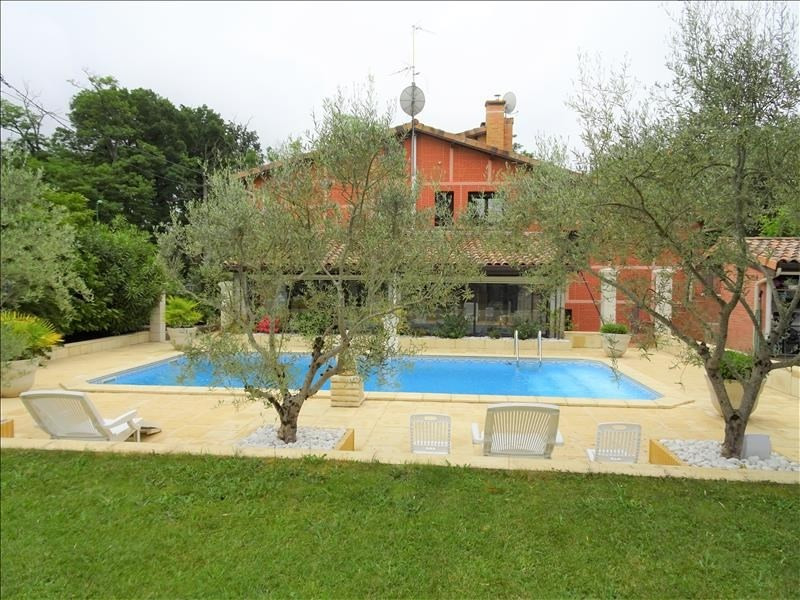 Deluxe sale house / villa Aussonne 520 000€ - Picture 1