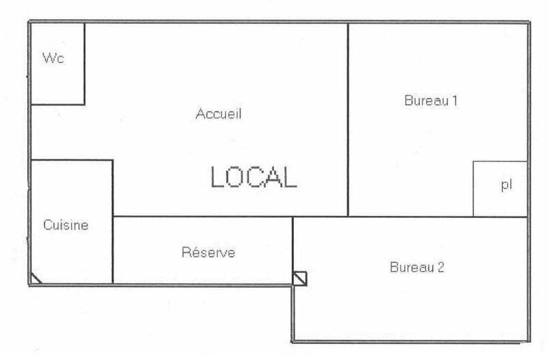 Location local commercial Fenouillet 390€ HT/HC - Photo 2