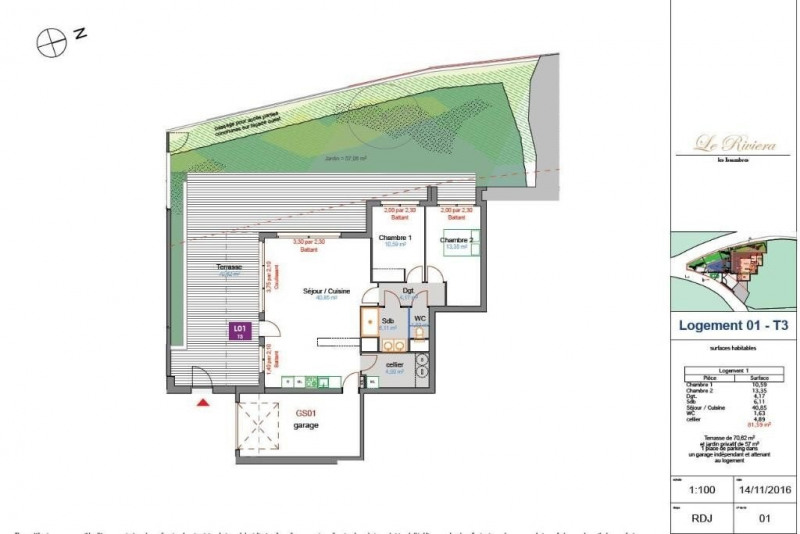 Vente appartement Les issambres 600000€ - Photo 15