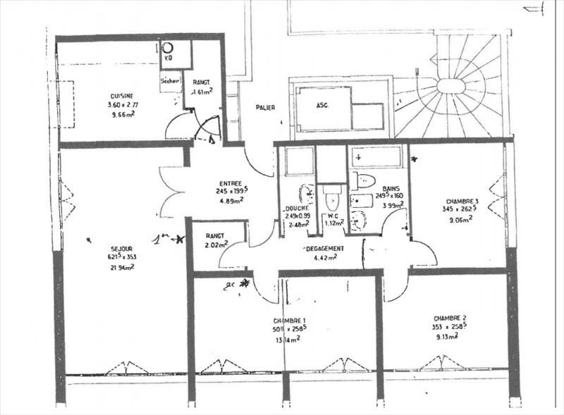Revenda apartamento Gennevilliers 220000€ - Fotografia 3