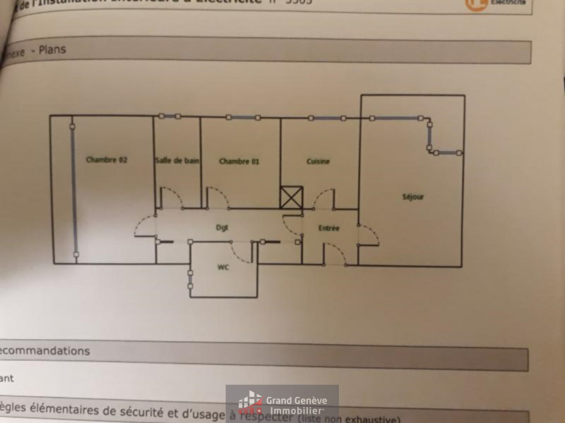 Sale apartment Annemasse 212 000€ - Picture 7