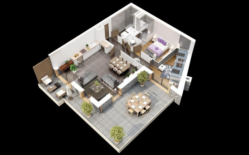 Venta  apartamento Le grand-bornand 492000€ - Fotografía 3