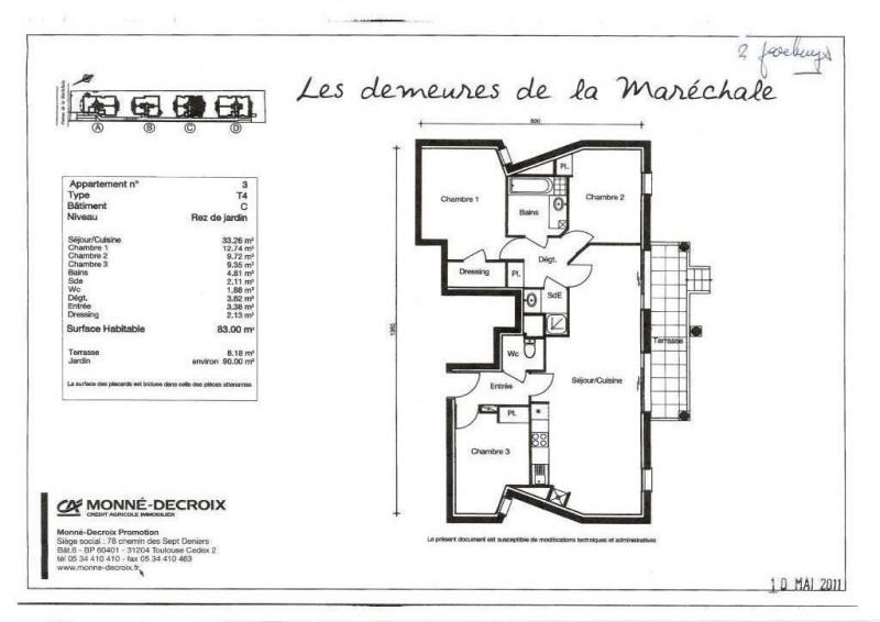 Location appartement Le plessis-trévise 1295€ CC - Photo 6
