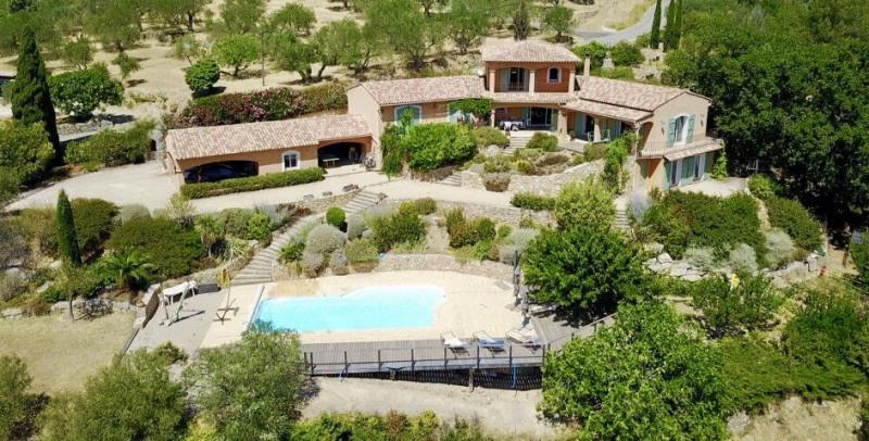 Revenda residencial de prestígio casa Seillans 750000€ - Fotografia 1