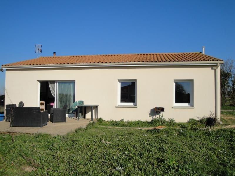 Sale house / villa La foye monjault 134000€ - Picture 1