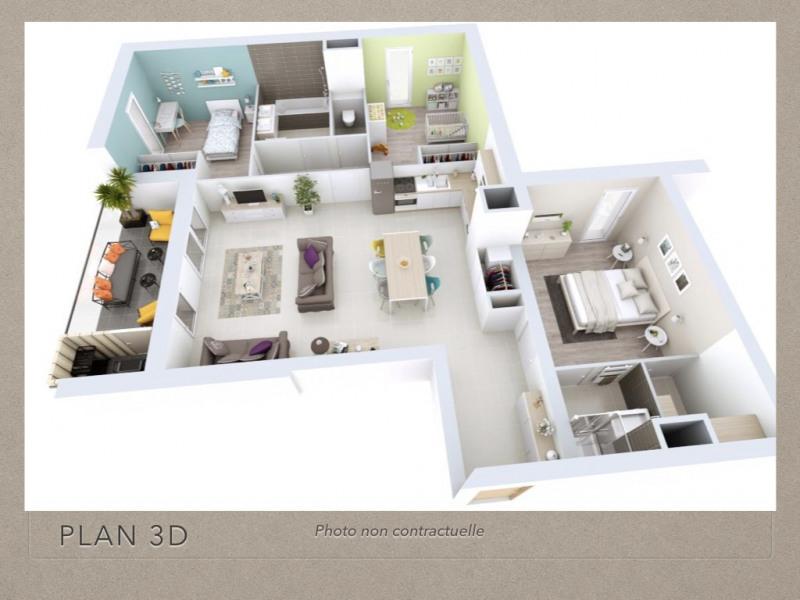 Verkoop  appartement Grenoble 338500€ - Foto 2