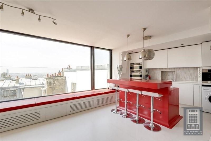 Vente de prestige appartement Paris 18ème 1350000€ - Photo 2