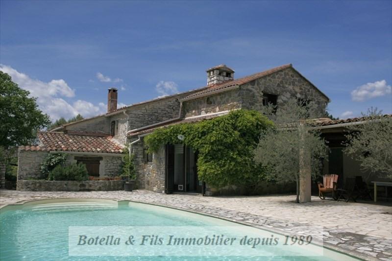 Verkoop van prestige  huis Uzes 475000€ - Foto 1