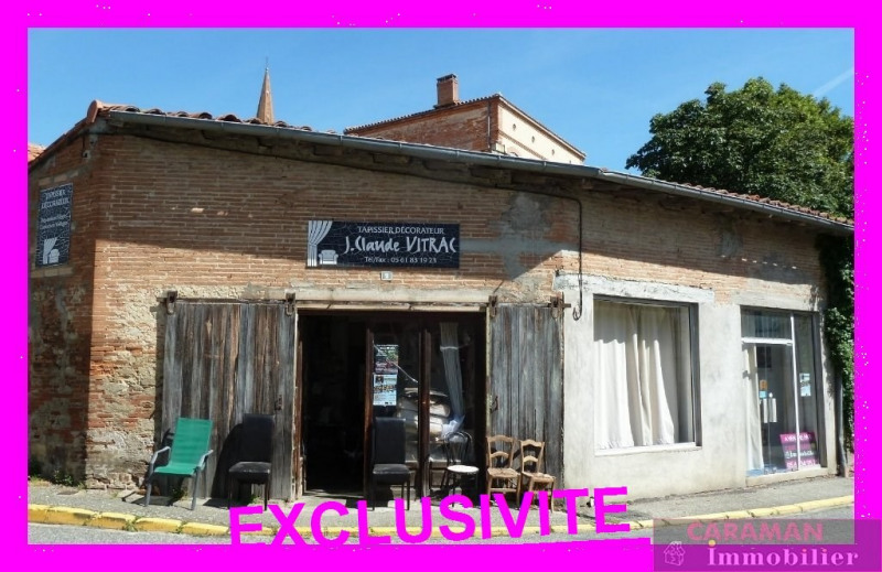 Vente local commercial Caraman  centre 59 000€ - Photo 1