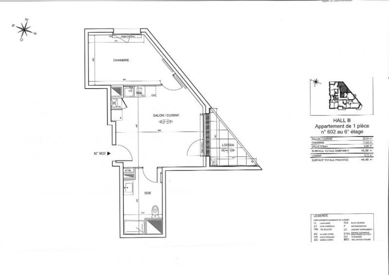 Vente appartement Nantes 197000€ - Photo 4
