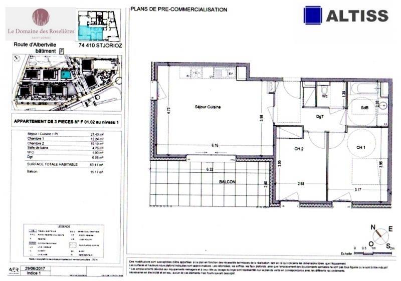 Sale apartment St jorioz 264000€ - Picture 2