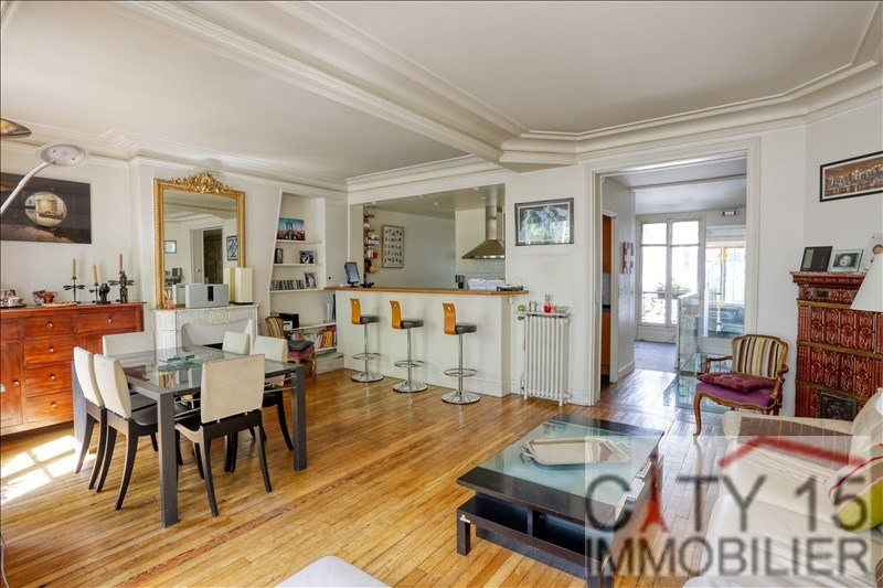 Vente de prestige appartement Paris 16ème 1 630 000€ - Photo 2