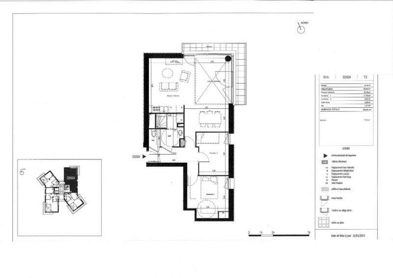 Vente appartement Rennes 224000€ - Photo 6