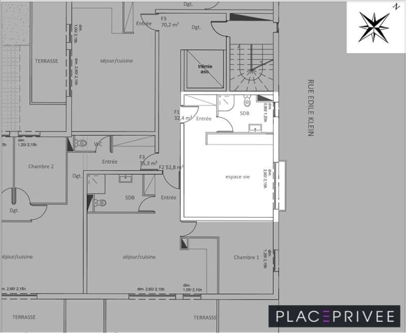 Sale apartment Jarville la malgrange 106000€ - Picture 4