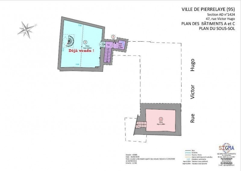 Sale apartment Pierrelaye 246280€ - Picture 5