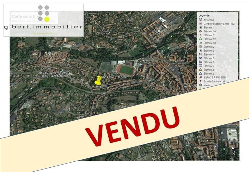 Vente terrain Espaly st marcel 39900€ - Photo 1