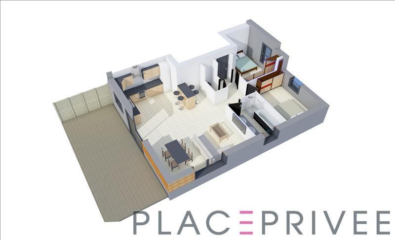 Vente appartement Nancy 214500€ - Photo 4