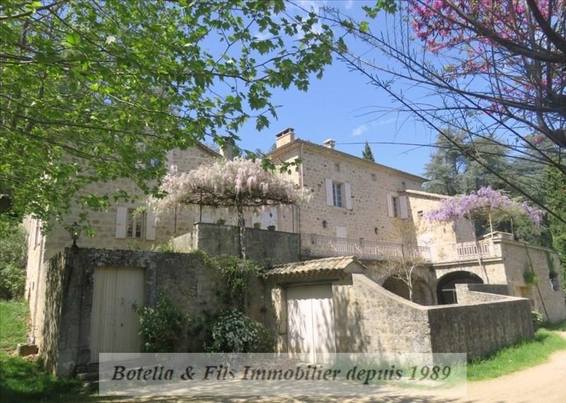 Deluxe sale house / villa Aubenas 698000€ - Picture 1