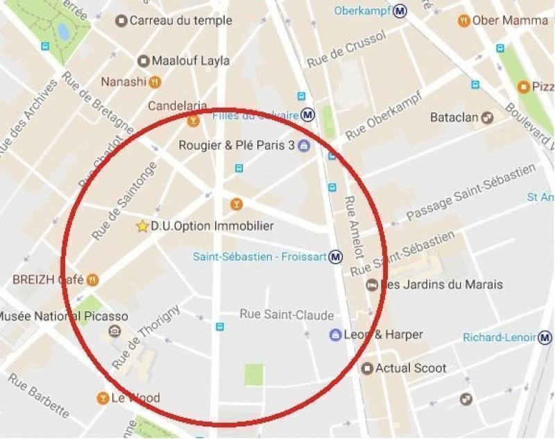 Location boutique Paris 3ème 3 200€ HT/HC - Photo 1