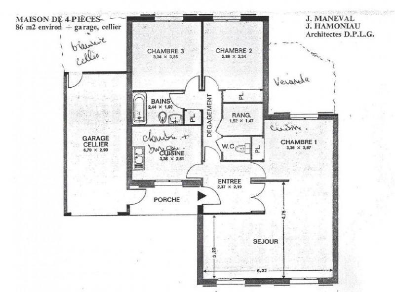 Sale house / villa Menucourt 340000€ - Picture 8