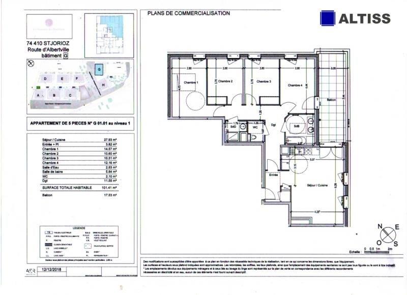 Vente appartement St jorioz 399000€ - Photo 1