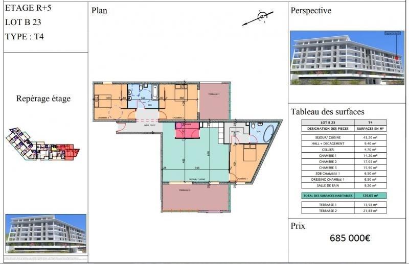 Vente appartement Propriano 685000€ - Photo 4