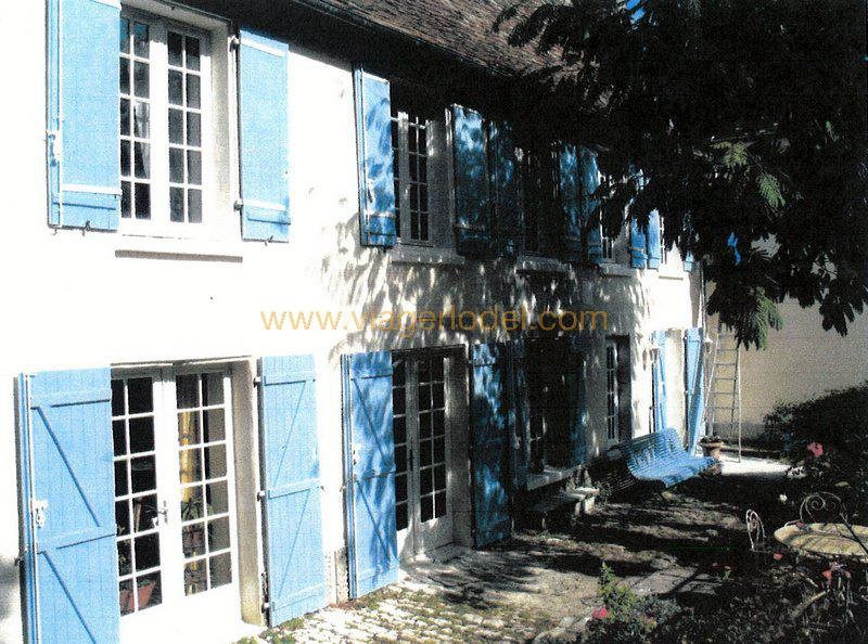 Vendita nell' vitalizio di vita casa Leigné-les-bois 65000€ - Fotografia 5