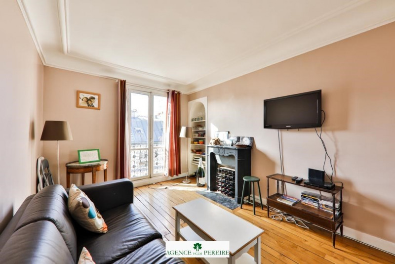 Sale apartment Paris 17ème 598000€ - Picture 2