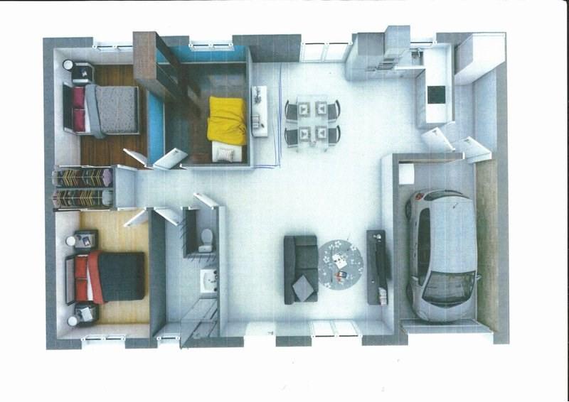 Rental house / villa St georges montcocq 680€ CC - Picture 1