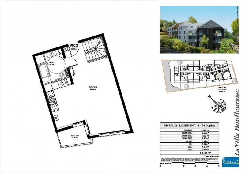Vente appartement Honfleur 162750€ - Photo 16