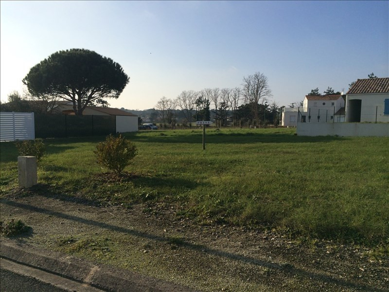 Vente terrain St vincent sur jard 95000€ - Photo 1