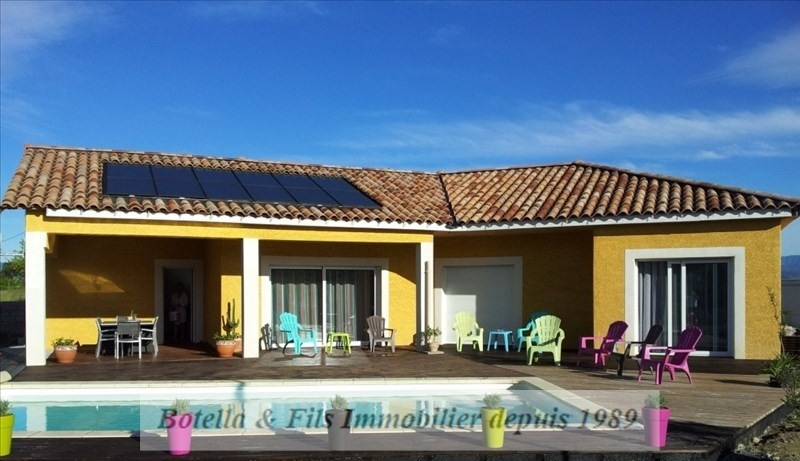 Vente maison / villa Grospierres 372400€ - Photo 1