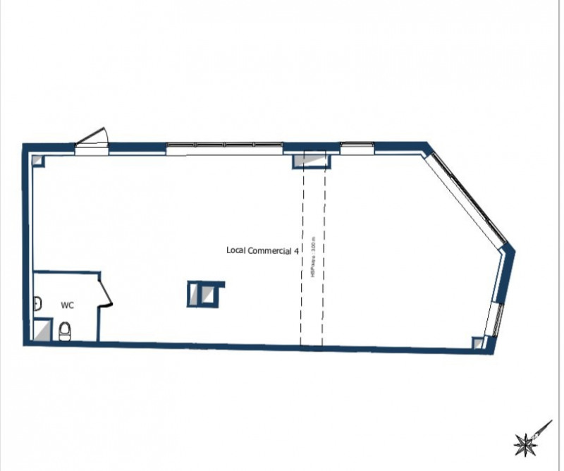 Vente local commercial Bois-colombes 364000€ - Photo 2