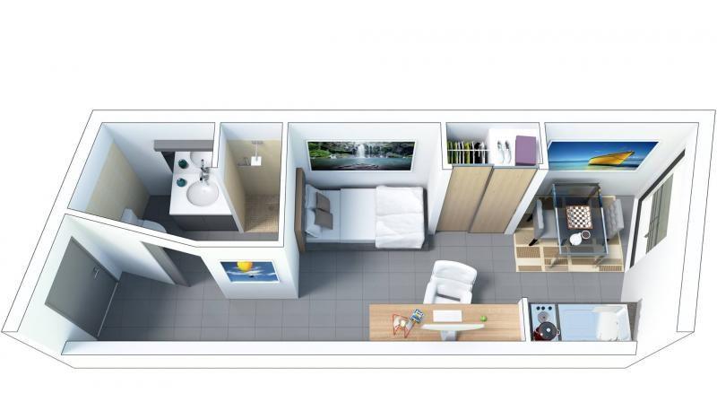 Venta  apartamento St denis 88000€ - Fotografía 3