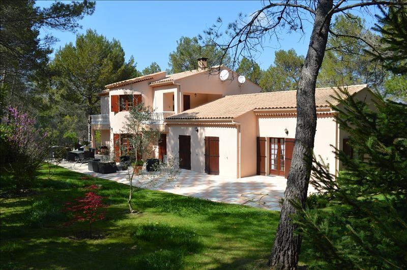 Vente de prestige maison / villa Le puy ste reparade 714000€ - Photo 1