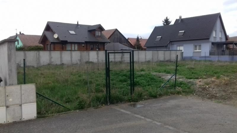 Vente terrain Blodelsheim 90 000€ - Photo 1